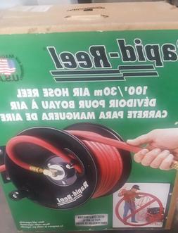 Rapid Reel 100' Air Hose Reel  NIB - New in Box - 100 Feet