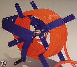 100 Foot Wall Mount AIR HOSE REEL for 3/8 and 1/2 HOSE all s
