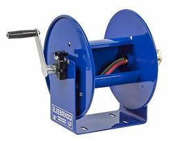 """Coxreels 112WL-1-100 Welding Hand Crank Hose Reel: 1/4"""" I.D,"""