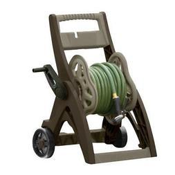 Suncast 150 Hose Reel Cart Garden Portable Storage Watering