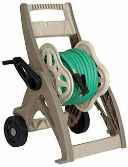 175-ft Cart Hose Reel Fold Portable Mobile Included Durable