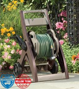 Suncast 175ft Hose Reel Cart Garden Portable Storage Waterin