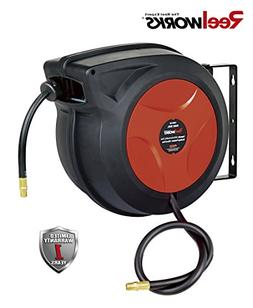 ReelWorks 27807153A Plastic Retractable Air Compressor/Water