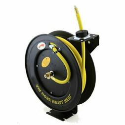 "3/8"" x 100' Auto Rewind Retractable Air Hose Reel 300 PSI Ru"