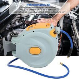 """3/8"""" X 50ft Retractable Air Compressor Hose Reel 300 PSI Aut"""