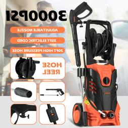 3000 PSI 2.4 GPM Electric Pressure Washer Cleaner Auto Jet M