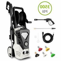 3500PSI 2.6GPM Electric Power Washer Machine with Power Hose