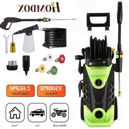 3500PSI 2.6GPM Pressure Washer Electric Cleaner with Winding