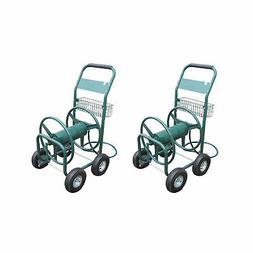 Liberty Garden Products 4 Wheel Hose Reel Cart Holds up to 3