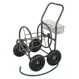 Palm Springs 4 Wheel Portable Garden Hose Reel Cart on Wheel