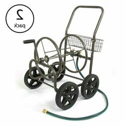 Liberty Garden Products 4 Wheel Residential Hose Reel Cart H