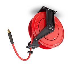 TEKTON 46875 50-Foot by 38-Inch I.D. Dual Arm Auto Rewind Ai