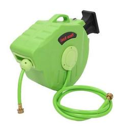 65' Auto Garden Water Hose Reel Retractable Automatic Wall M