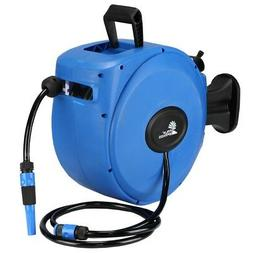 Palm Springs 65ft Wall Mounted Garden Hose Reel - Full Swive