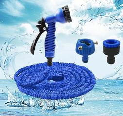 7 One Nozzle Garden Reel Plastic Hose Water Pipe Quick Conne