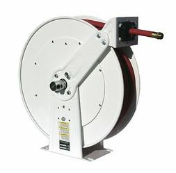 "Reelcraft 7650-OLP-17WH White Reel 3/8"" x 50', 300psi, Air /"