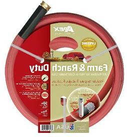 Apex 969RR-50 0.75 in. x 50 ft. Red Farm Hose