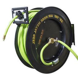 Black Bull AHAR100 100 Foot Retractable Air Hose Reel with A