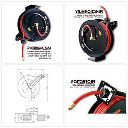 REELWORKS Air Compressor/Water Hose Reel Retractable Spring