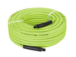 Flexzilla Air Hose, 1/4 in. x 100 ft., 1/4 in. MNPT Fittings