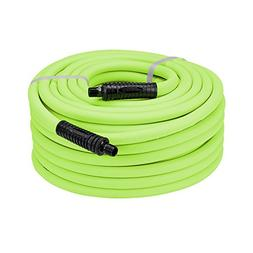 Flexzilla Air Hose, 1/2 in. x 50 ft, 3/8 in. MNPT Fittings H