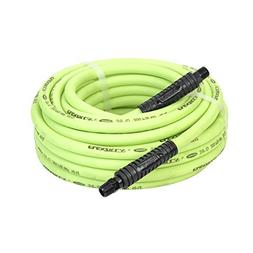 Flexzilla Air Hose, 3/8 in. x 50 ft, 3/8 in. MNPT Fittings,