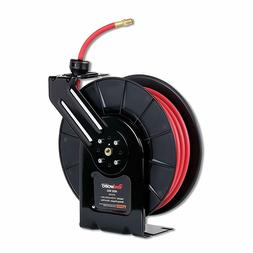 REELWORKS Air Hose Reel Spring Drive PRO Level with Hybrid P