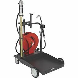 Ironton Air-Operated 5:1 Oil Pump Kit- With Cart and Hose Re