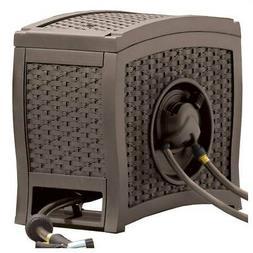 Aqua winder Automatic Rewind Hose Reel in Brown