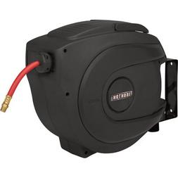 Ironton Auto Rewind Air Hose Reel - With 3/8in. x 65ft. Hose