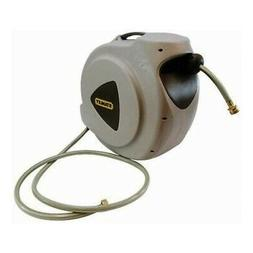 Stanley 65ft /20m Automatic Retractable Hose Reel w/ Swivel