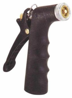 Gilmour Comfort Grip Nozzle, Pistol-Grip, Zinc/Vinyl, Black