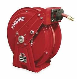 Reelcraft Compact Dual Pedestal Air/Water 3/8 in. Hose Reel