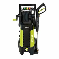 Corded Electric Pressure Washer with Hose Reel Heavy Duty Cl