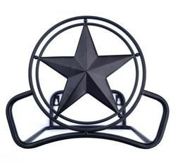 Decorative Bronze Star Steel Lawn Wall-Mount Garden Water Ho