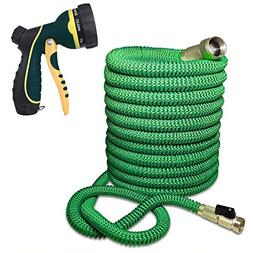 Blueberry Expandable and Flexible Garden Hose - Solid Brass