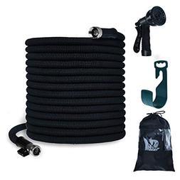 PanShield Expandable Garden Hose Set with Bag& Nozzle& Hange