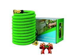 Expandable Garden Hose - 50 ft Best Flexible Expanding Water