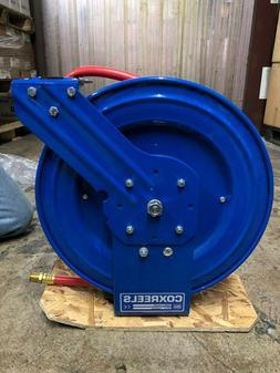 """Coxreels EZ-Coil P-LP-450 1""""x250' Air Hose Reel w/ Hose 50ft"""