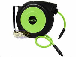 "Flexzilla 3/8"" X 30' Retractable Air Hose Reel 300psi Zilla"