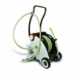 Garden Power Foot Crank Powered 2-Wheel Garden Hose Reel Car
