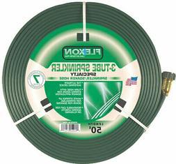 Flexon FS50 50-Foot 3-Tube Sprinkler Hose