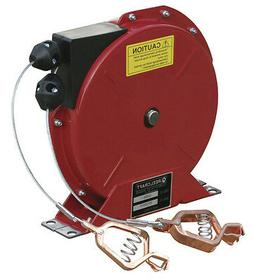 Reelcraft G 3050 Y Static Discharge Grounding Reel 50ft. Wit