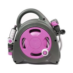 Garden Aquabag Maxi Portable Hose Reel Fushia Yard Lawn Wate