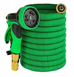 Garden Hose - Expandable 50ft Water Hose with Solid Brass Co
