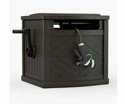 Garden Hose Portable Storage Box Outdoor Hideaway Water Reel