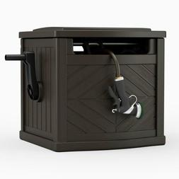 Garden Hose Portable Storage Box Outdoor Hideaway Water Reel