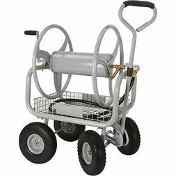 Strongway Garden Hose Reel Cart - Holds 5/8in. x 400ft.L Hos
