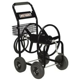 Garden Hose Reel Cart — Holds 5/8in. x 300ft. Hose