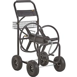 Garden Hose Reel Cart- Holds 300ft. x 5/8in. Hose